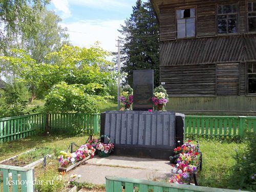 Обелиск в память погибших односельчан