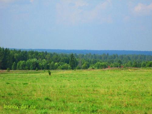 В окрестностях Блуднова